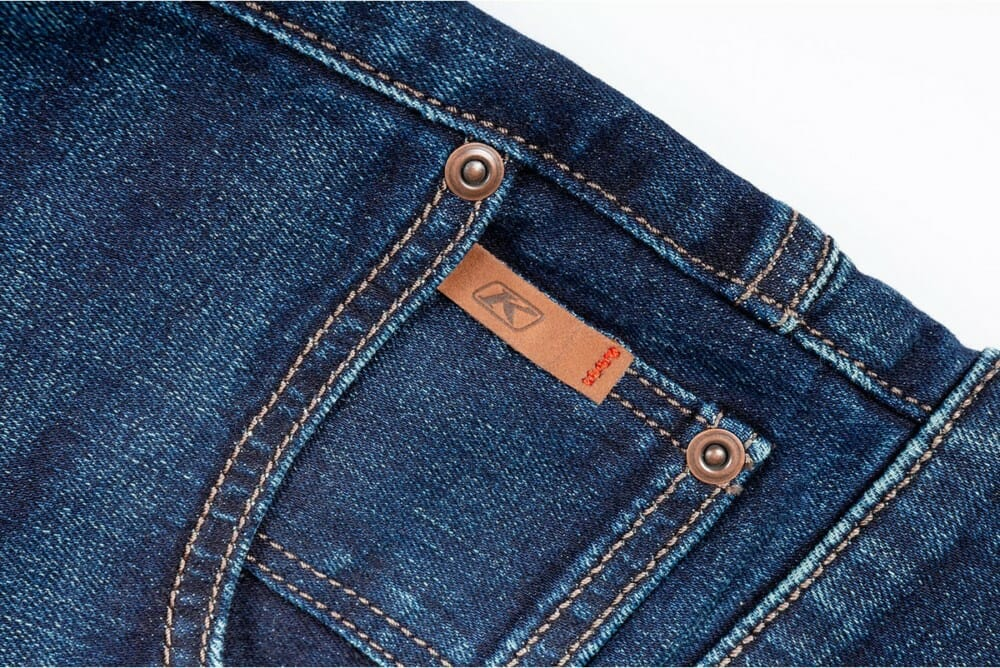 Klim Unlimited Straight Stretch Jeans detail