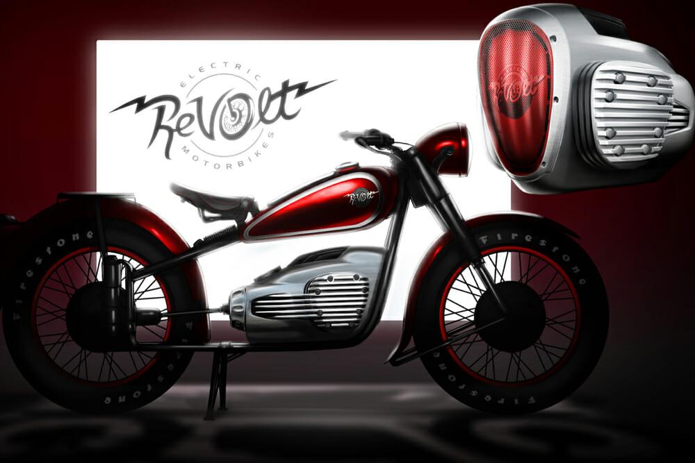 ALYI Retro ReVolt BMW R71 Clone Electric Motorcycle