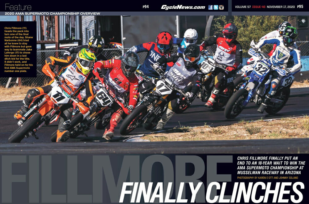 2020 AMA Supermoto Championship Overview in Cycle News