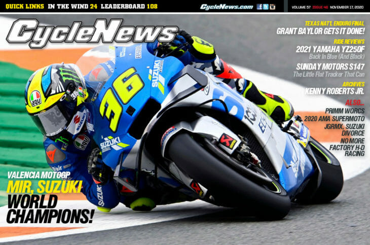 Cycle News Magazine 2020 Issue 46
