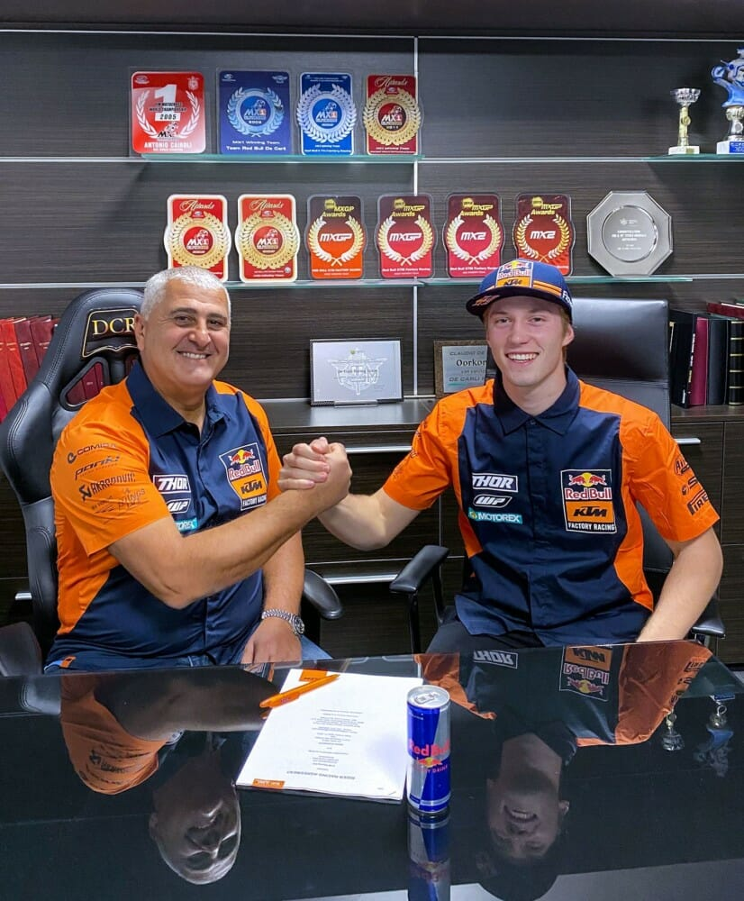 Red Bull KTM Factory Racing Signs Mattia Guadagnini for 2021 MX2