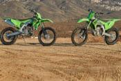 2021 Kawasaki KX250X & KX450X