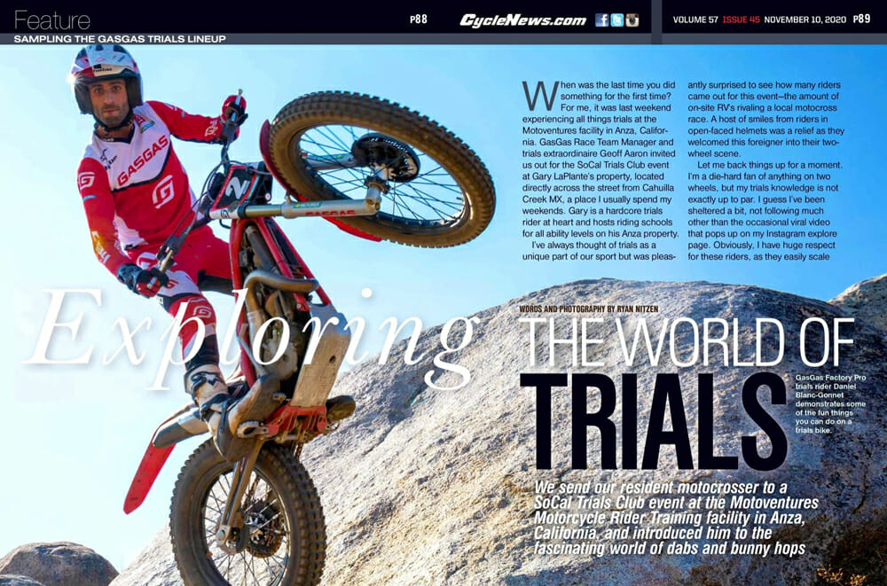 Cycle News Exploring The World of Trials