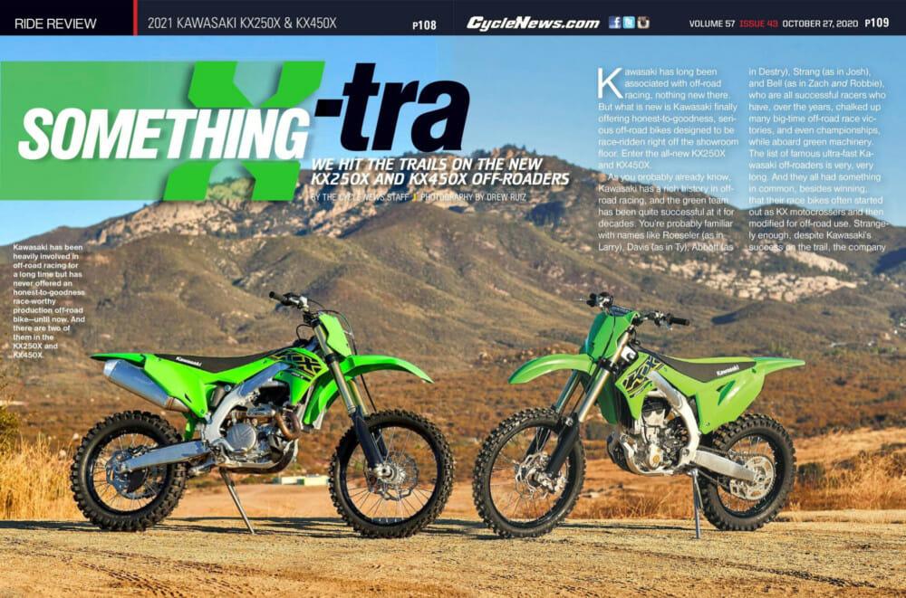 2021 Kawasaki KX250X & KX450X Review
