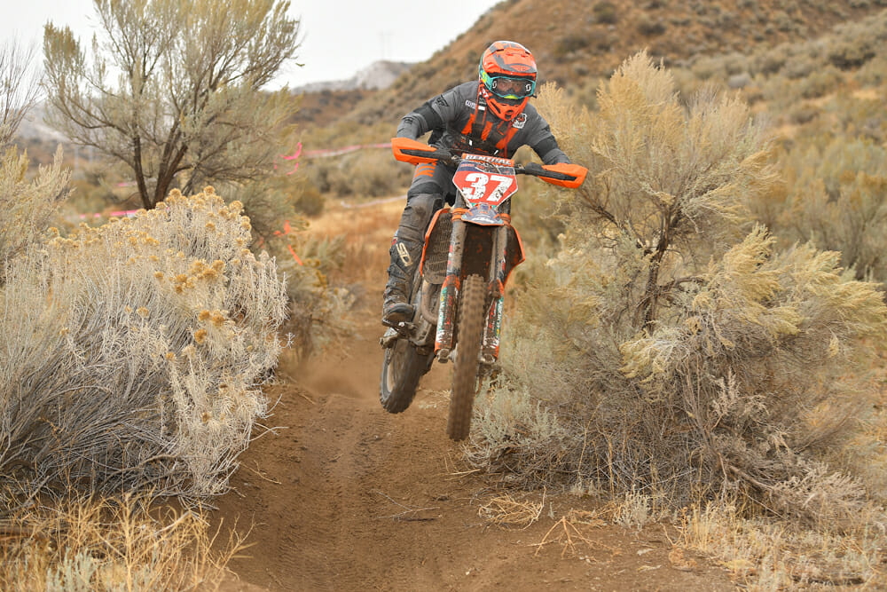 David Kamo at 2020 Idaho AMA West Hare Scrambles