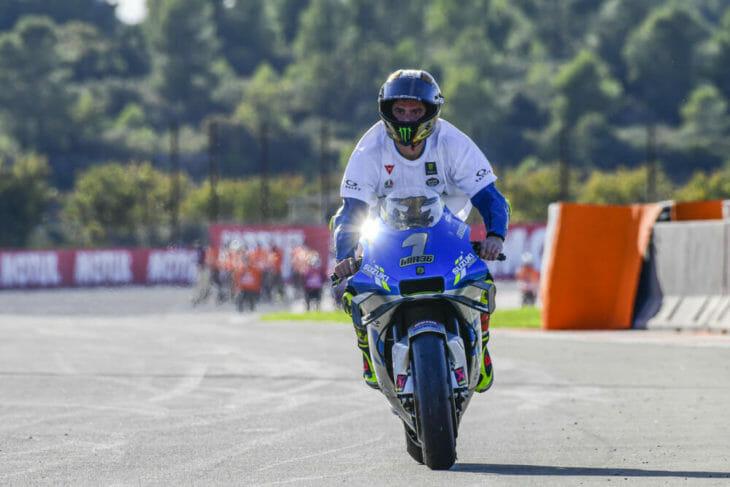 2020 Valencia MotoGP Mir wins title two