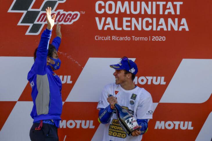2020 Valencia MotoGP Miller Brivio