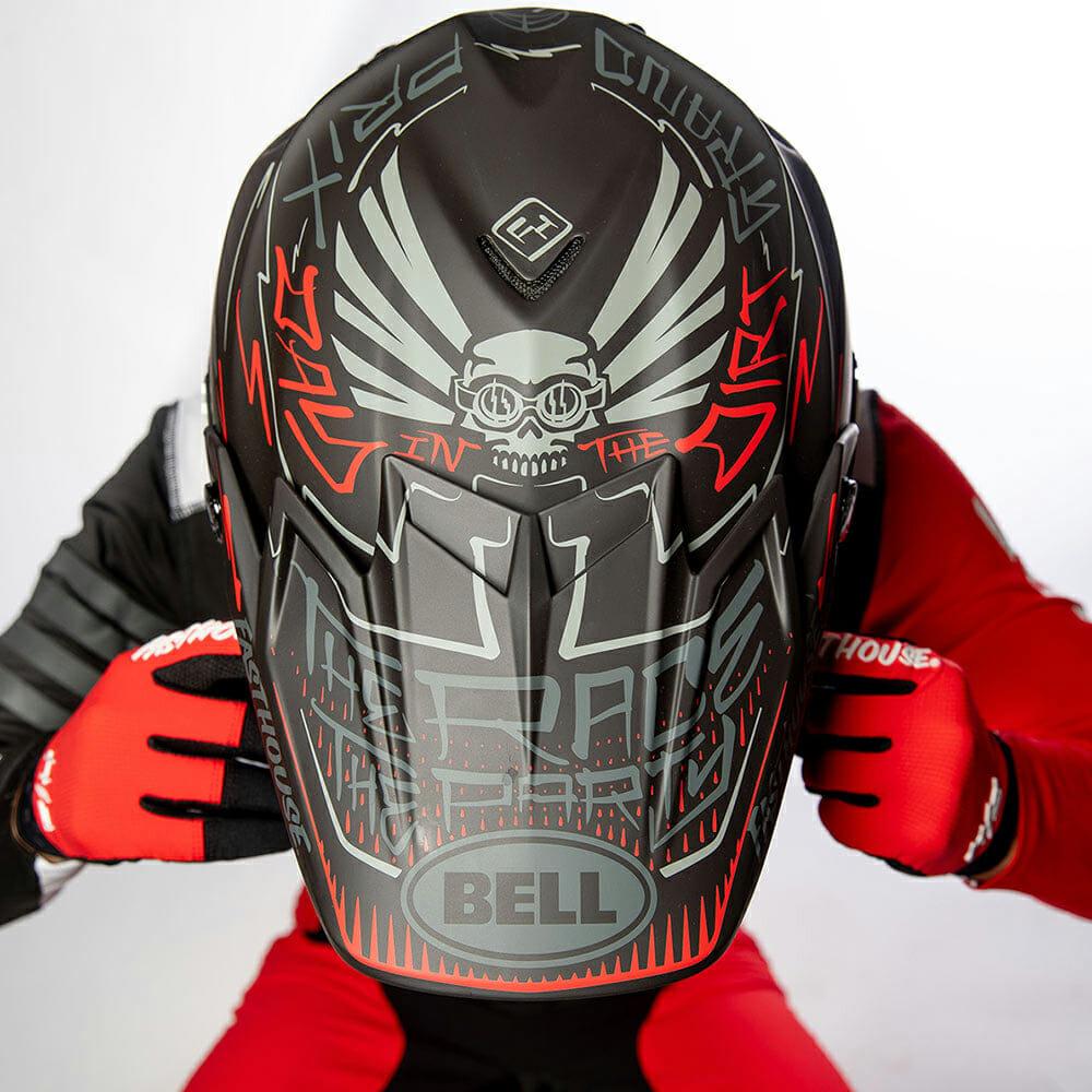 Fasthouse + Bell DID 23 Moto-9 Flex Helmet