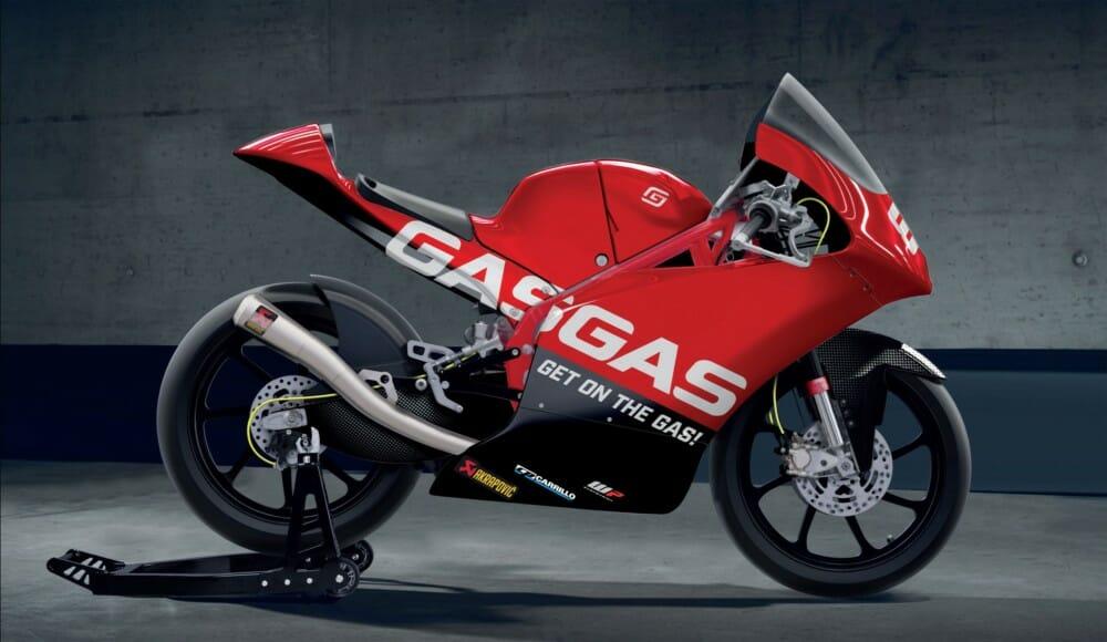 GasGas Motorcycles Moto3 RC 250 GP