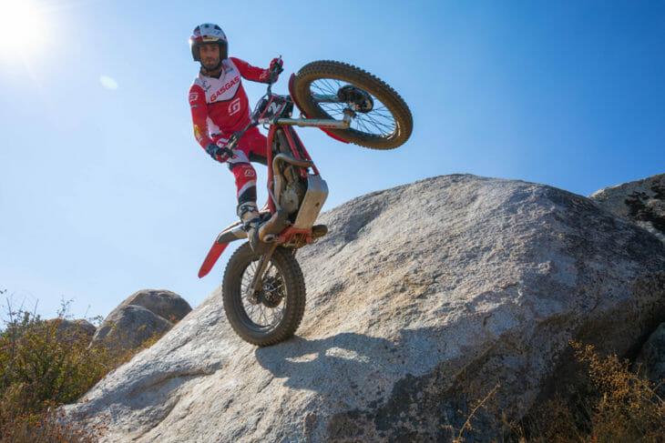 GasGas Factory Pro trials rider Daniel Blanc-Gonnet
