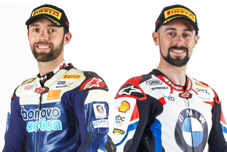 Jonas Folger and Eugene Laverty