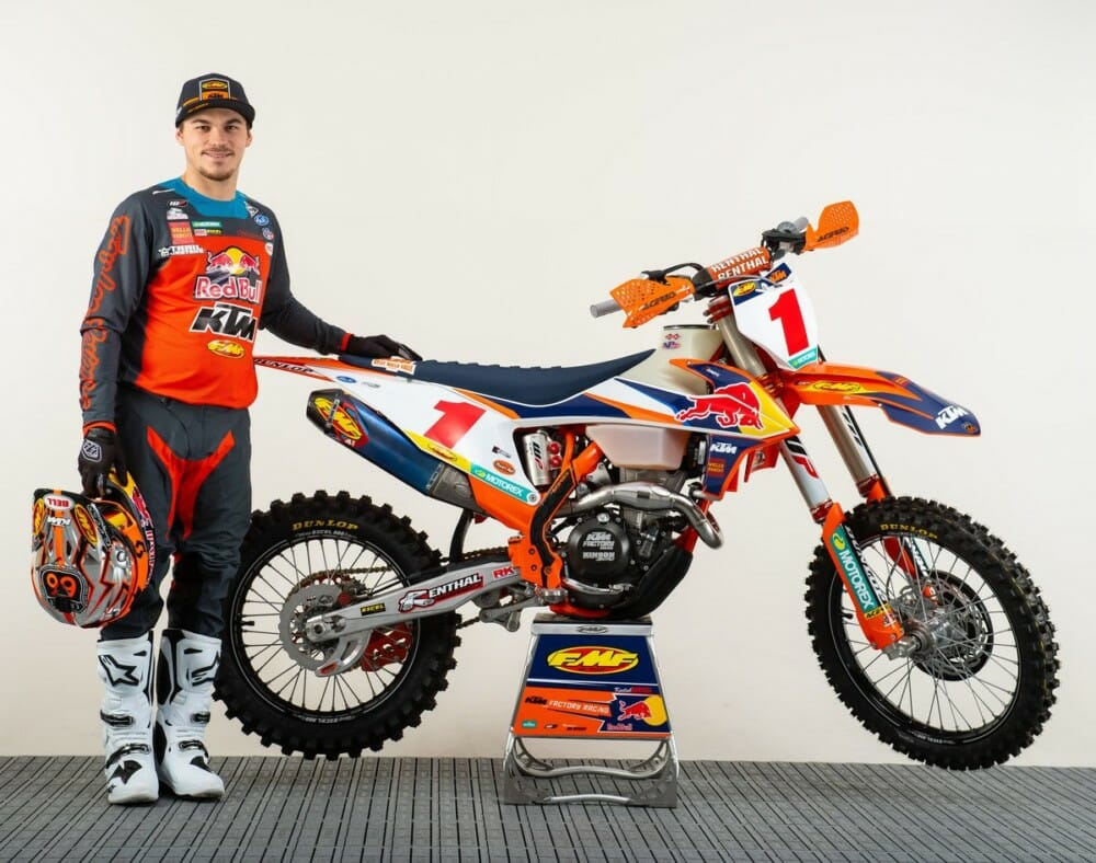 Kailub Russell To Miss GNCC Finale