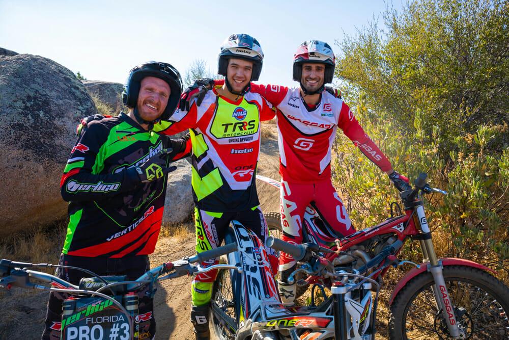 Karl Davis, Josh Roper and Daniel Blanc-Gonnet