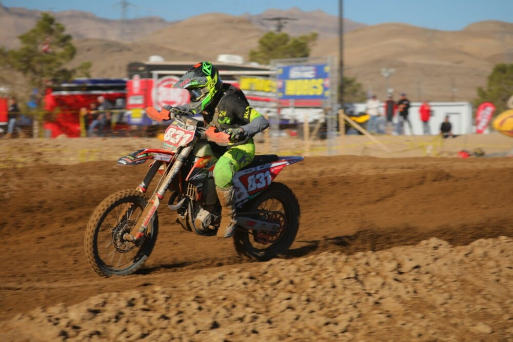 Mateo Oliveira at 2020 Primm WORCS