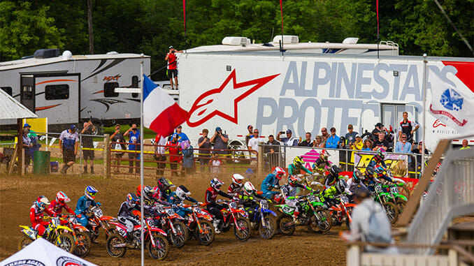 "Pro MX RidersDonate to MIPS ""Save of the Day"" Campaign"