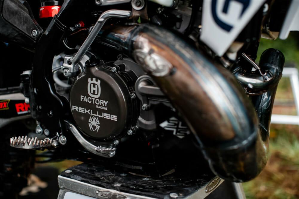 Husqvarna Motorcycles Renews its Partnership With Rekluse.