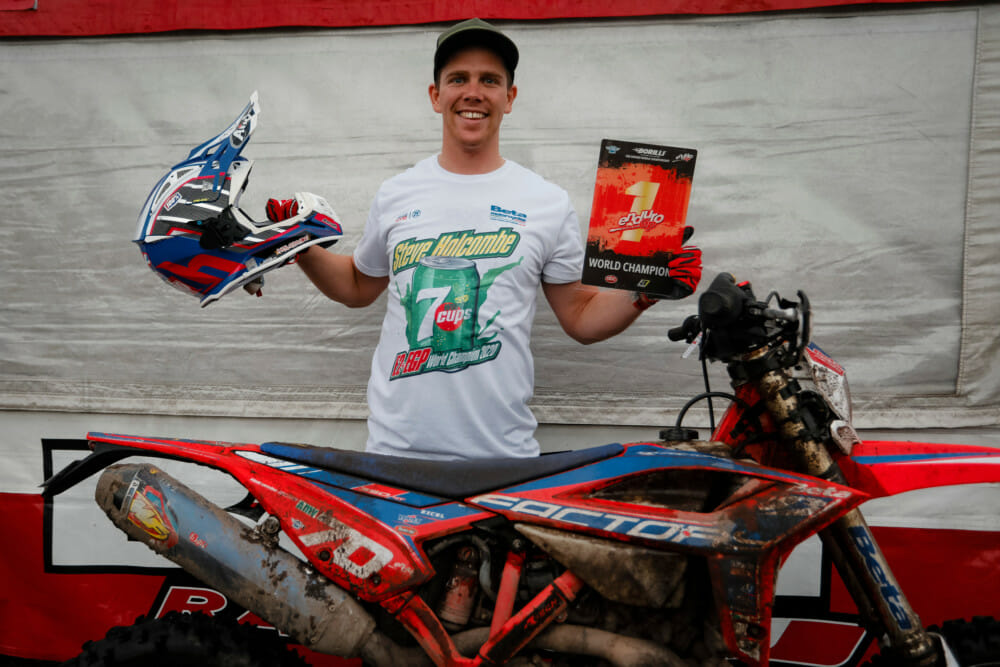 2020 EnduroGP Champion Steve Holcombe