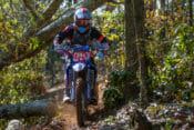 Steward Baylor at 2020 Gobbler Getter National Enduro