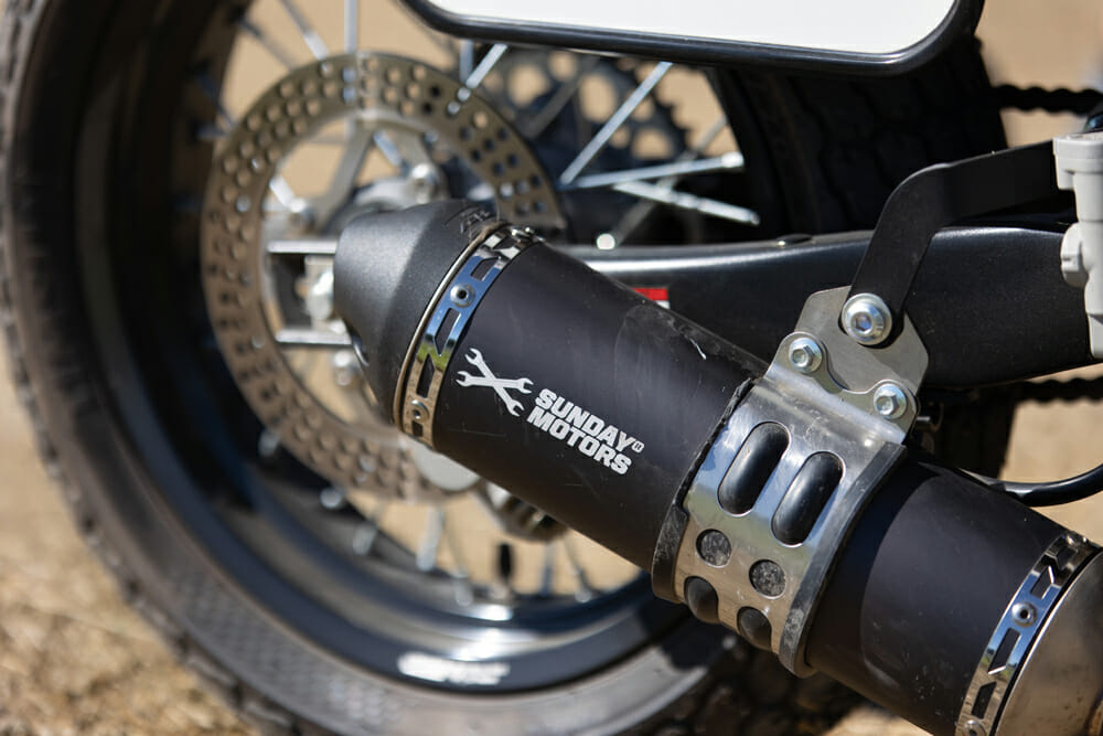 Sunday Motors S147 Muffler