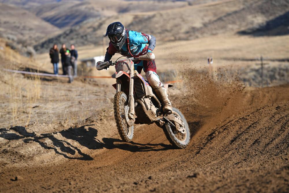 Zane Roberts at 2020 AMA West Hare Scrambles Boise