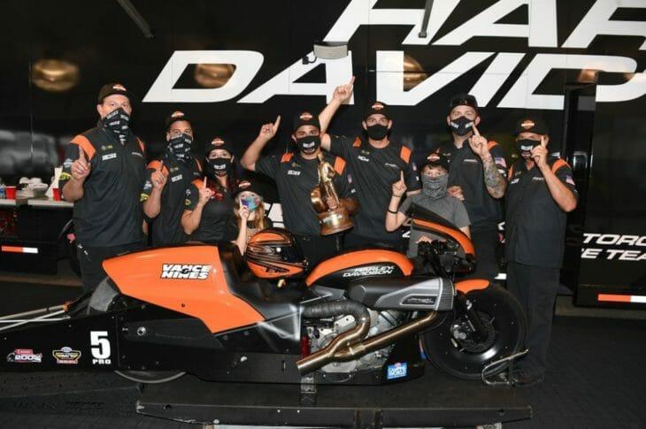 Vance & Hines Harley-Davidson NHRA