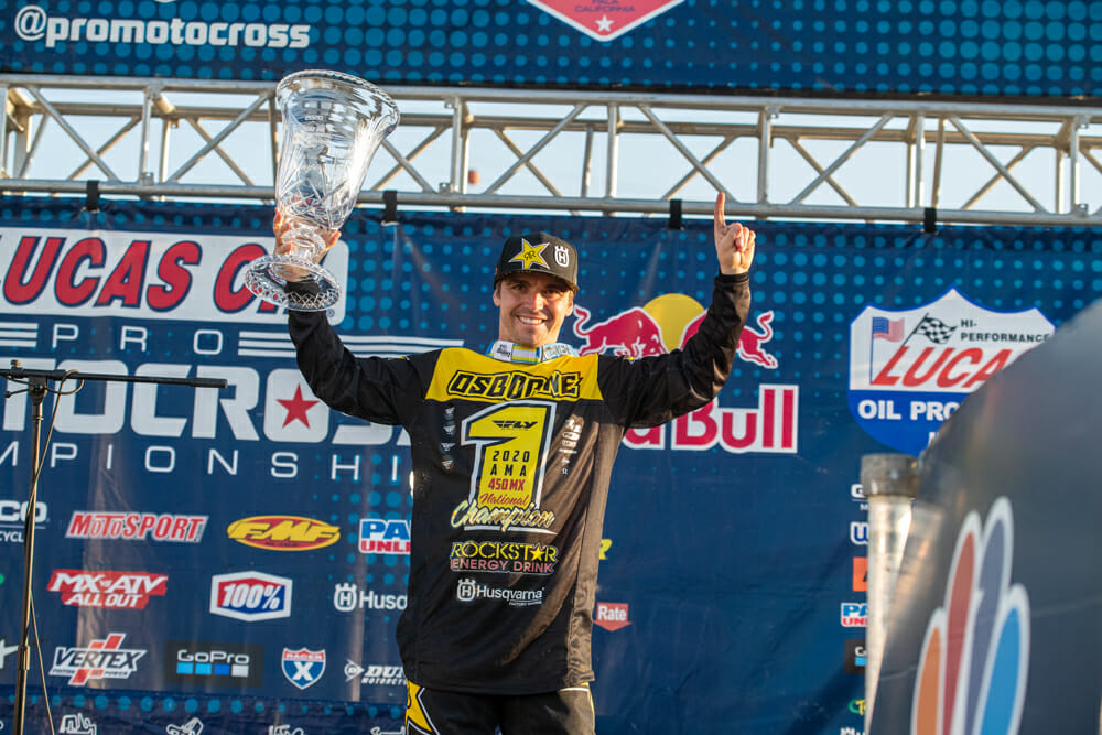2020 AMA 450cc Pro Motocross Champion Zach Osborne