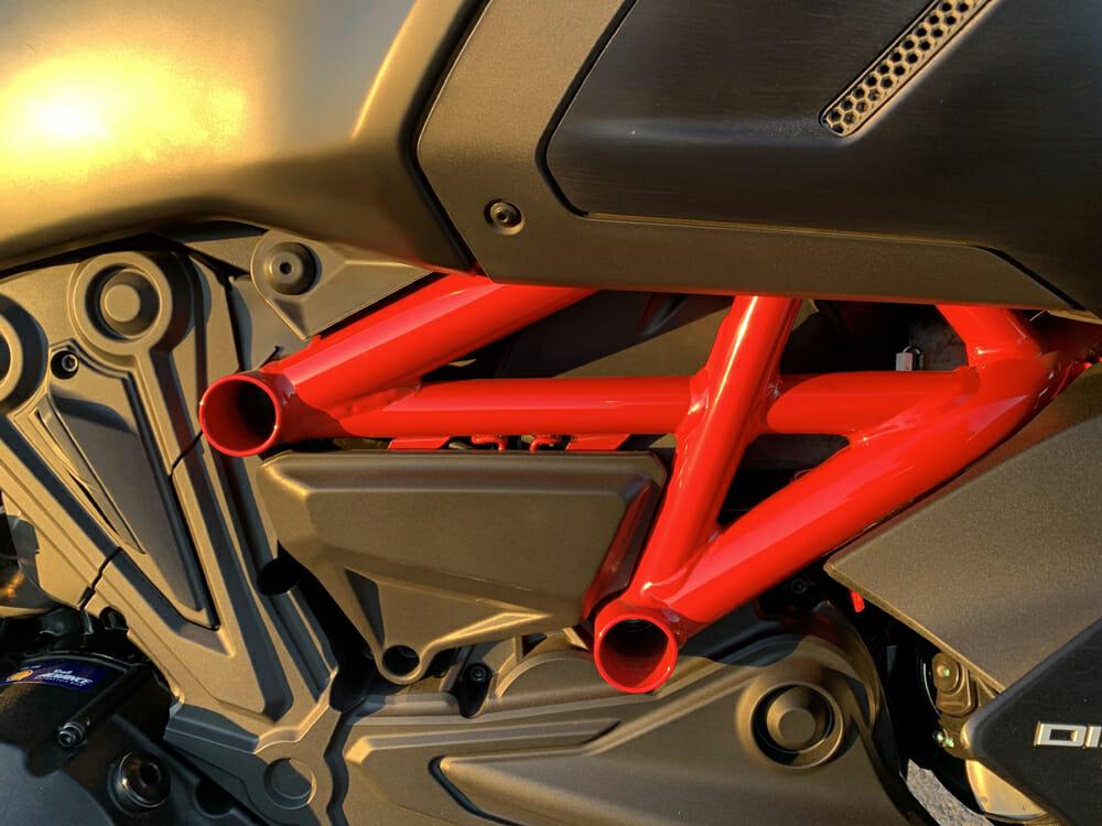 2020 Ducati Diavel 1260 S frame