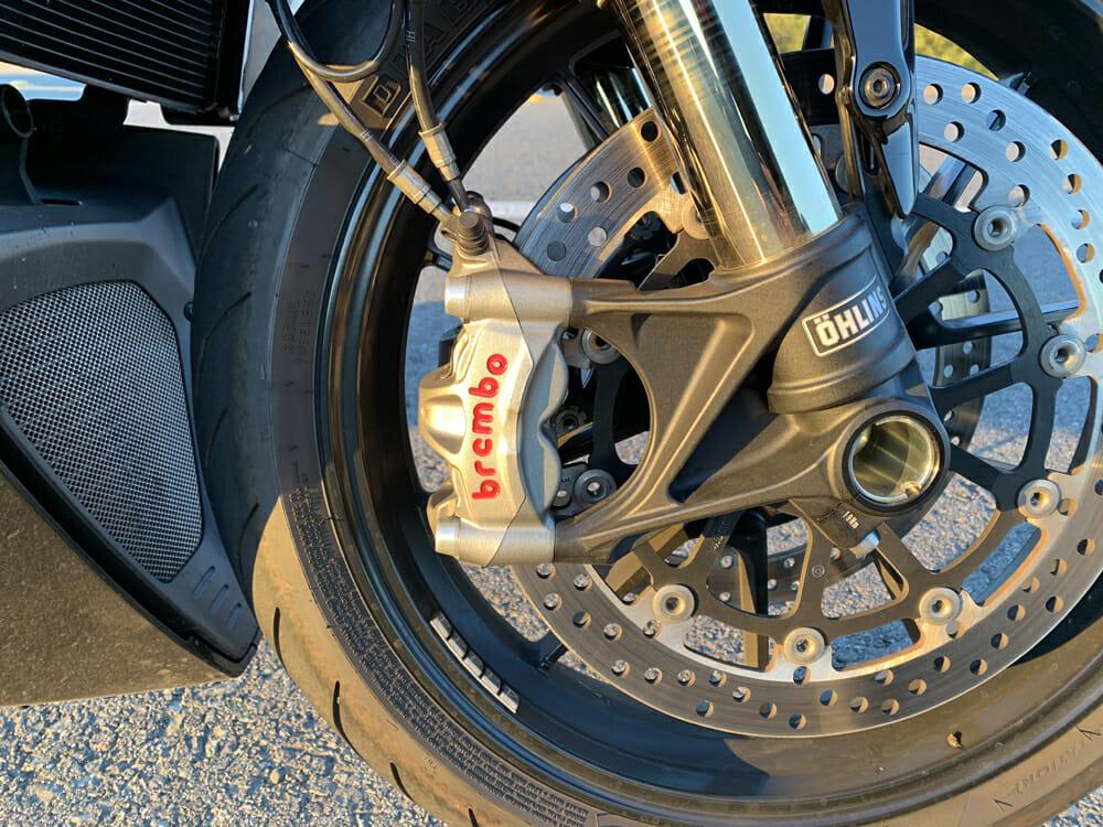 2020 Ducati Diavel 1260 S front wheel