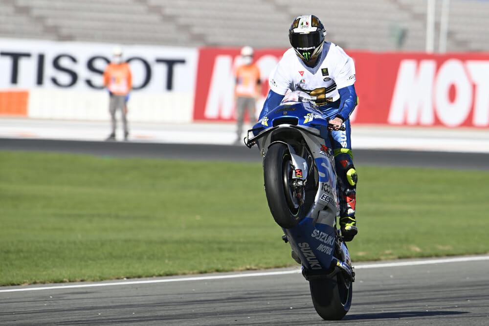 2020 MotoGP Champion Joan Mir