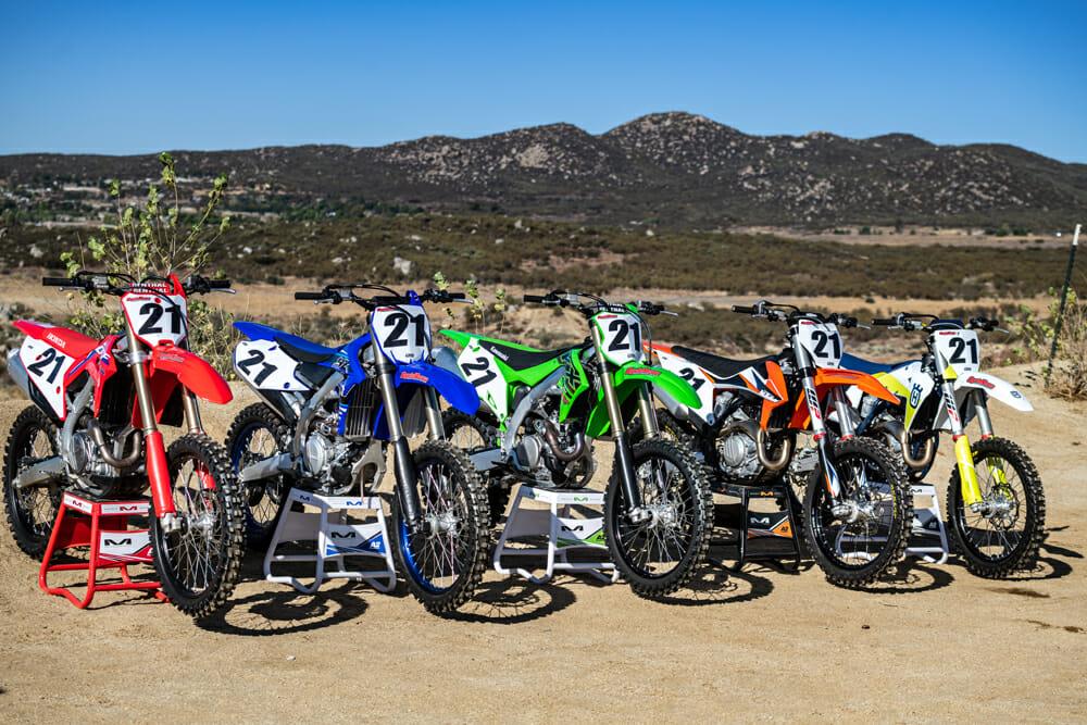 Cycle News 2021 450 Motocross Shootout