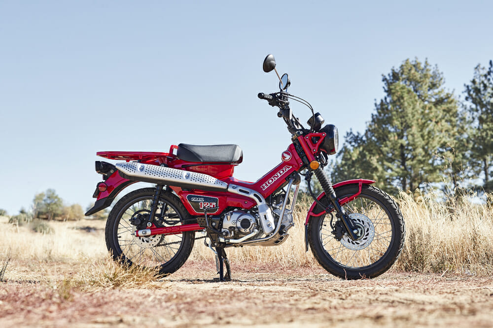 2021 Honda CT125 Trail Specifications