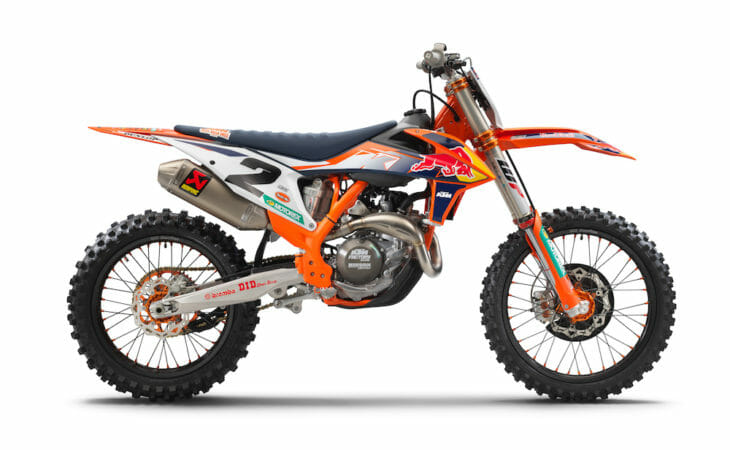 2021 KTM 450 SX-F Factory Edition First Look