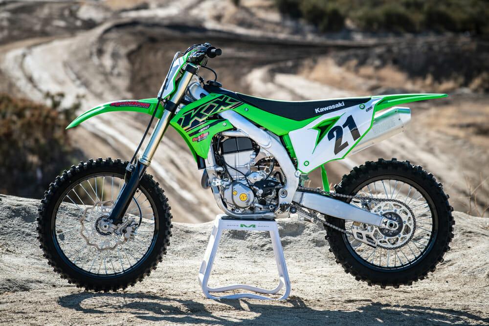 2021 Kawasaki KX450 left side