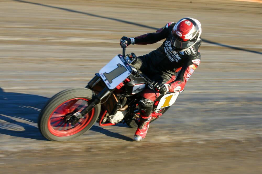 Briar Bauman (No. 1 Indian Motorcycle Progressive Insurance FTR750)