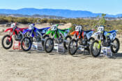 Cross-Rutted Column on Cycle News 450cc shootout