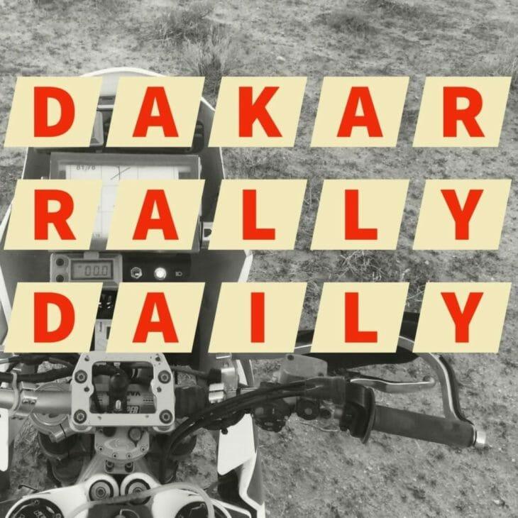 Dakar Rally Daily Logo