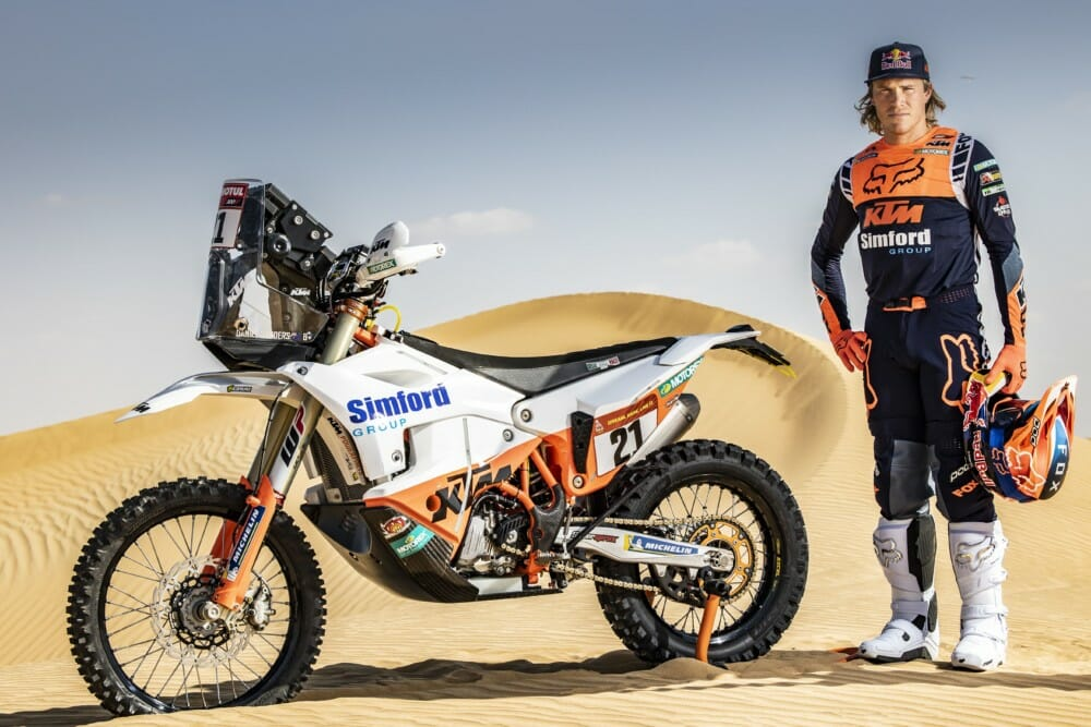 Daniel Sanders - KTM Factory Racing - 2021 Dakar Rally Preview