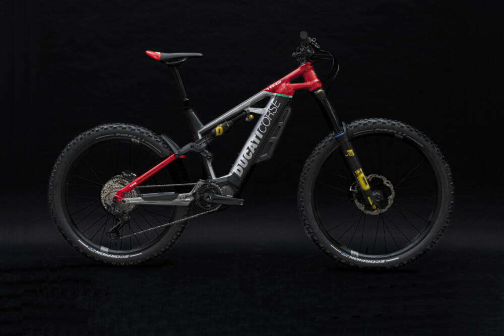 Ducati TK-01RR enduro e-bicycle
