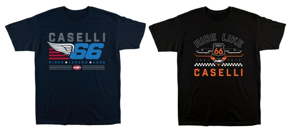 FMF Racing's Kurt Caselli KC66 tees