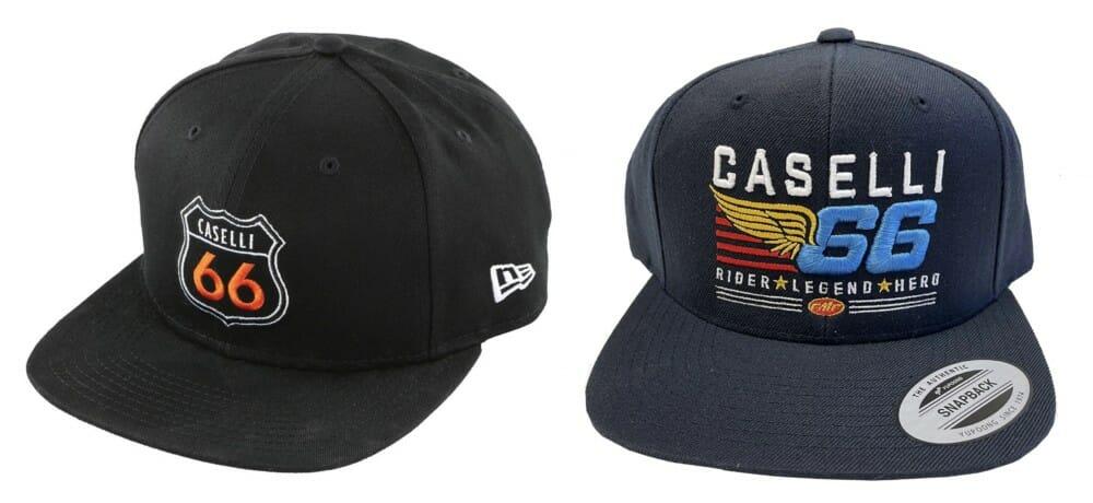 FMF Racing's Kurt Caselli KC66 caps