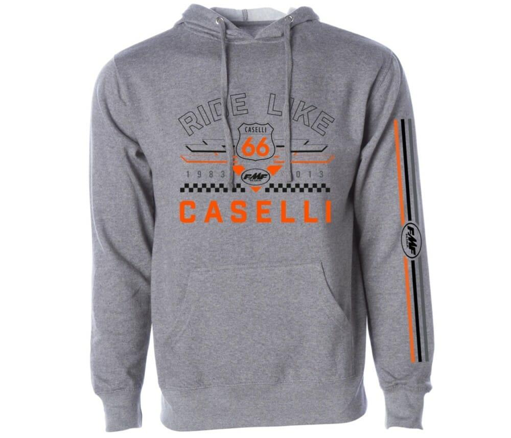 FMF Racing's Kurt Caselli KC66 hoodie