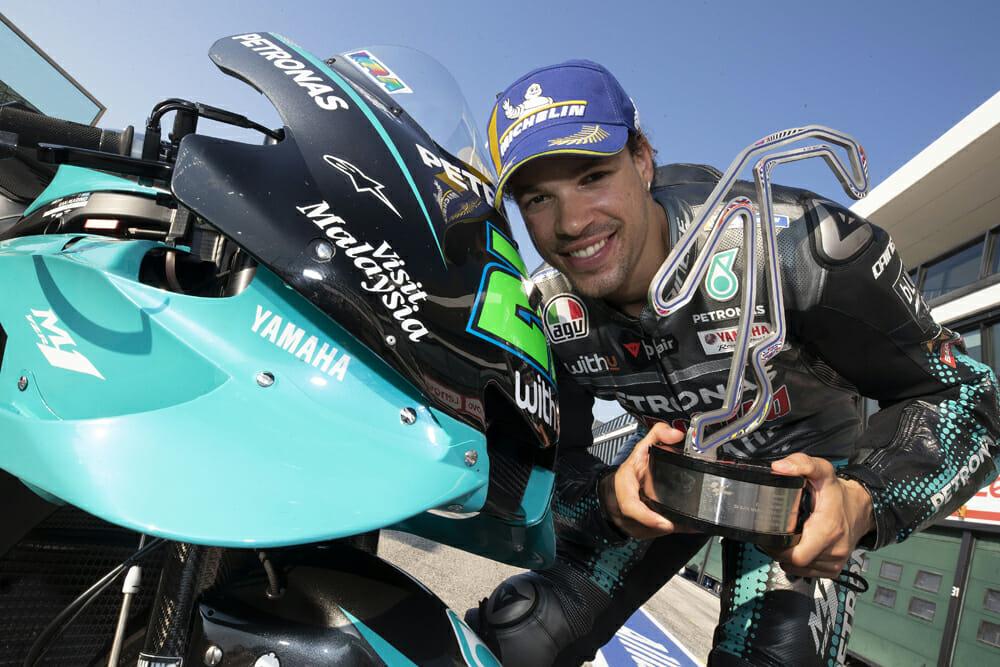 Franco Morbidelli at 2020 Misano GP