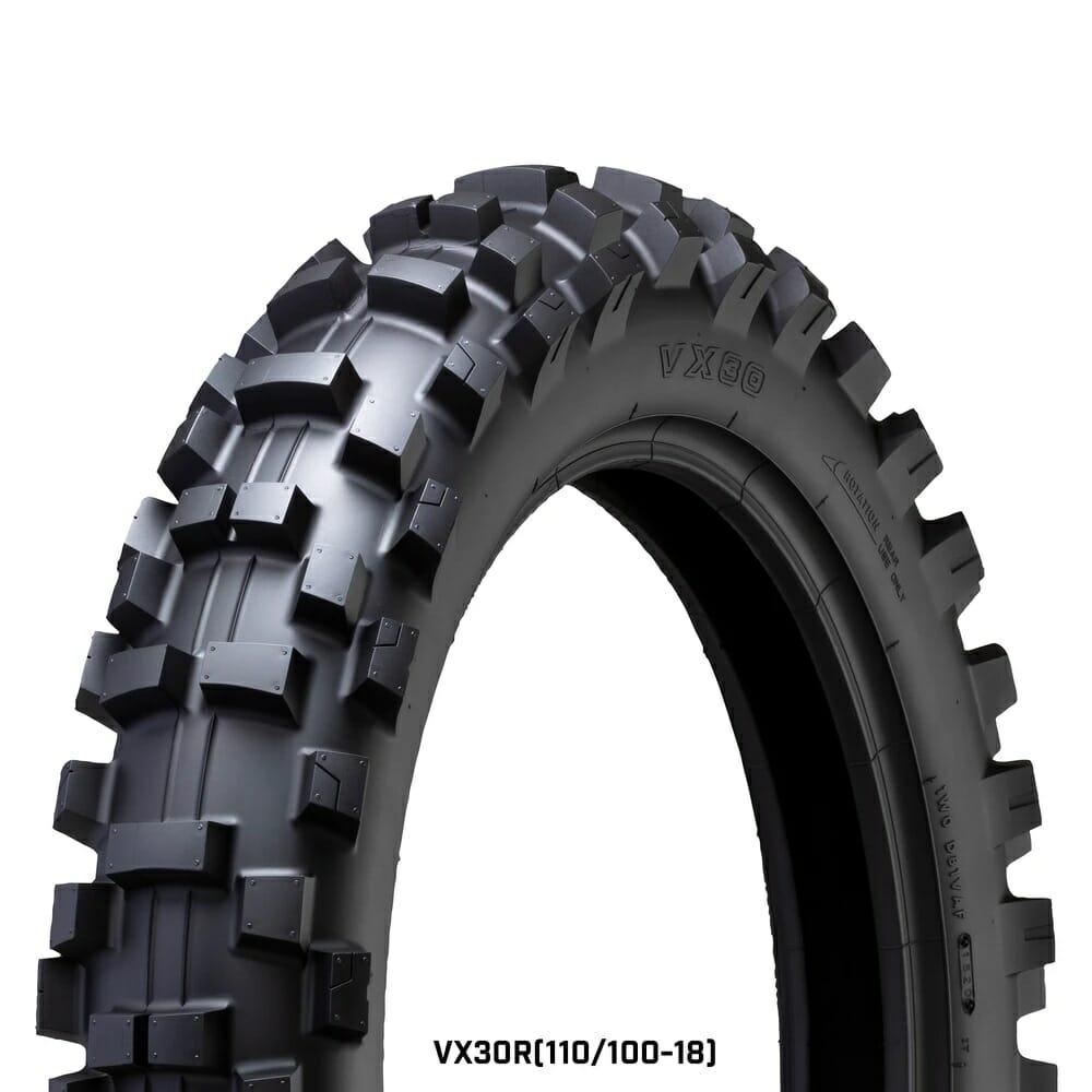 IRC VX30 Off Road Tires 110/100-18