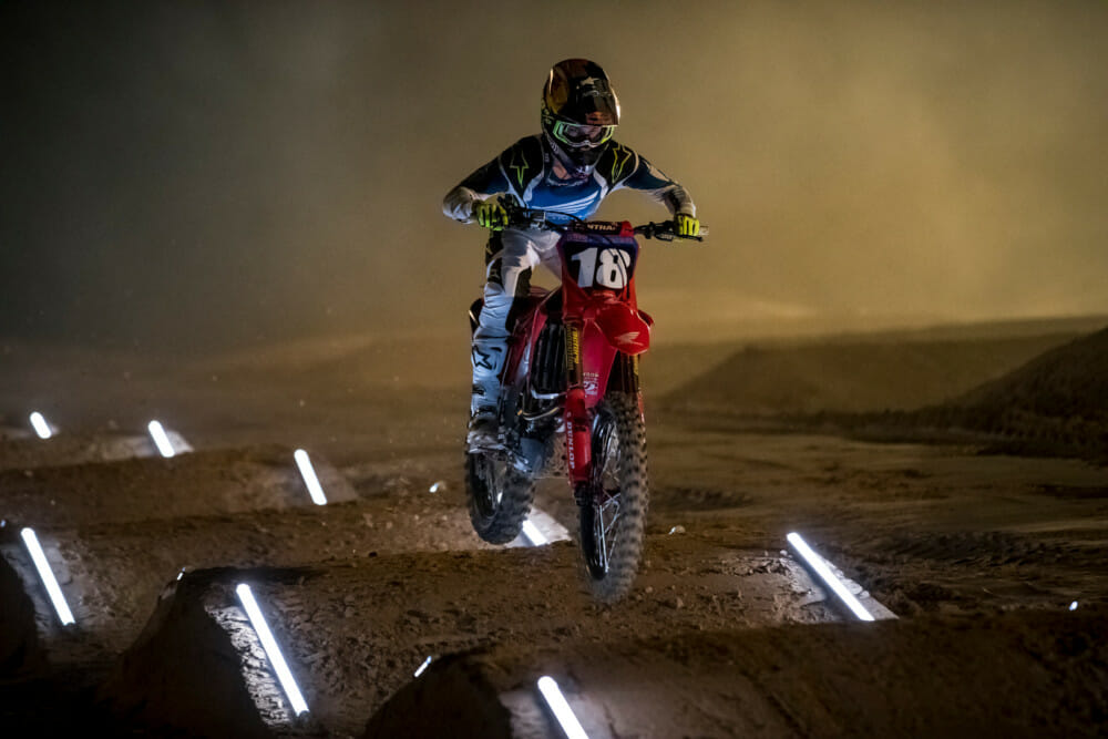 Jett Lawrence at Moto Sandbox in Groveland, Florida, USA on 23 October, 2020.
