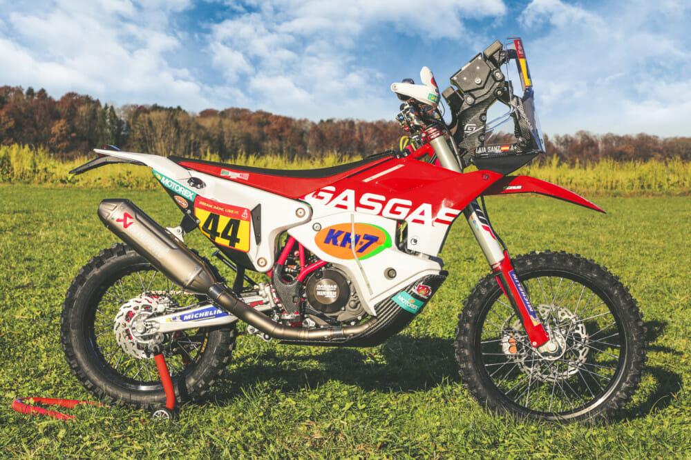 GasGas Factory Racing Dakar Rally RC 450F