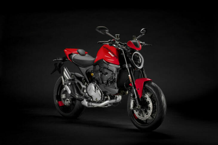 2021 Ducati Monster First Look side