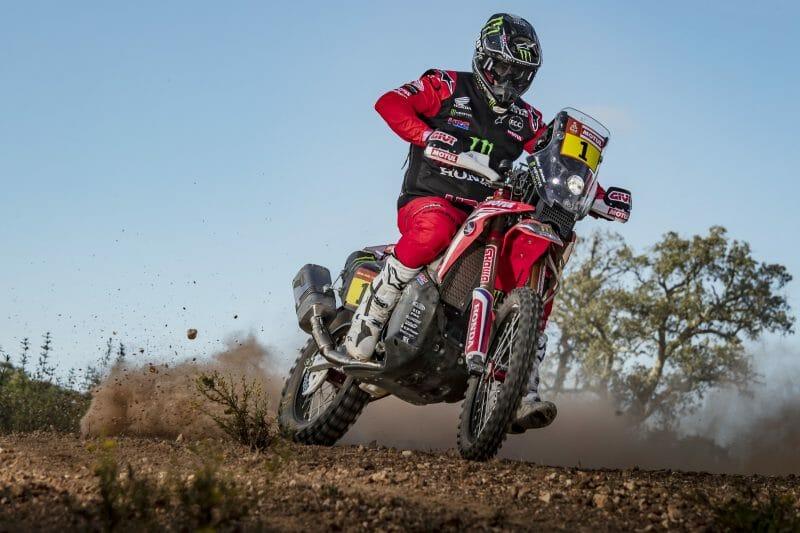 Ricky Brabec Rally Bike Corner