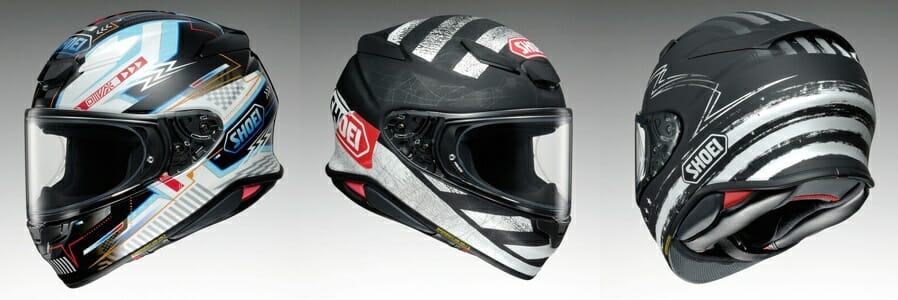 Shoei RF 1400 Arcane, Scanner and Dedicated helmet