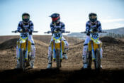 Suzuki Announces 2021 Supercross Team