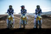 Suzuki Announces 2021 Supercross Team